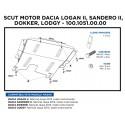SCUT MOTOR METALIC LOGAN II/ SAND. II/ DOKKER/ LODGY