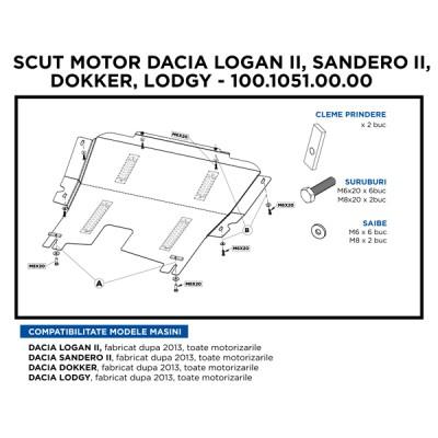 SCUT MOTOR METALIC LOG. II/ SAND. II/ DOKKER/ LODGY