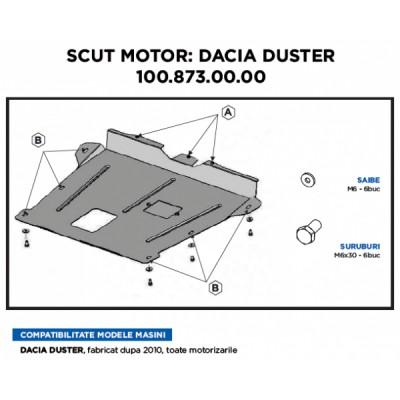 SCUT MOTOR METALIC DUSTER