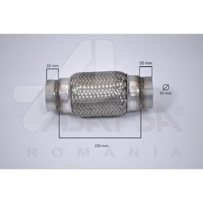RACORD FLEXIBIL 55X150 MM