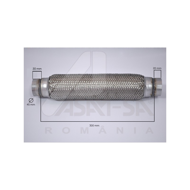 RACORD FLEXIBIL 45X300 MM