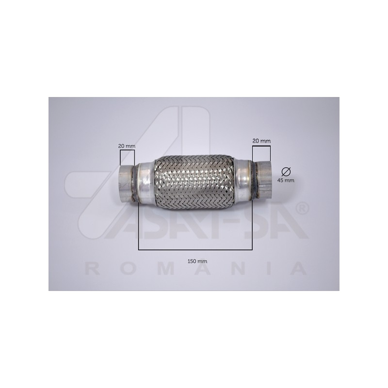 RACORD FLEXIBIL 45x150 MM