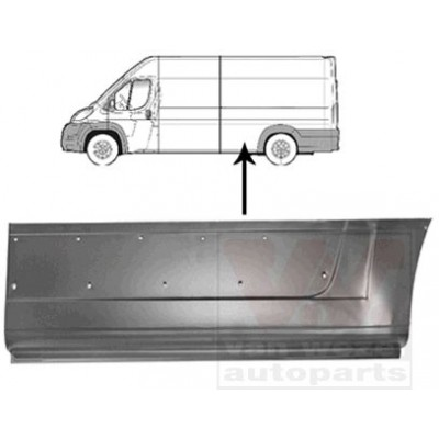 PANOU LATERAL SPATE STANGA DUCATO 06-