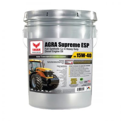TRIAX AGRA Supreme 15W40 Full Synthetic CJ-4 (1000 ore)
