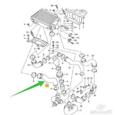 FURTUN INTERCOOLER TRANSPORTER 2.5D ACV AYC AUF