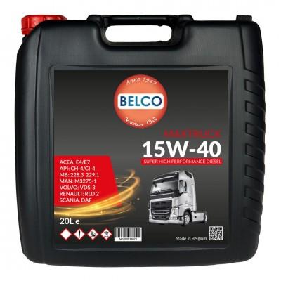 Belco Maxtruck 15W40 EHPD E5/E7 20L