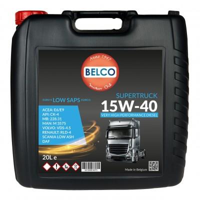 ULEI MOTOR BELCO SUPERTRUCK 15W40 20 L
