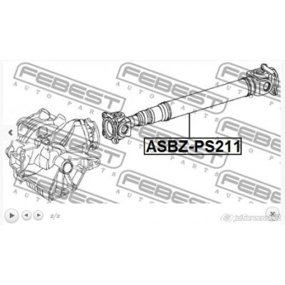 AX CARDANIC MERCEDES E 211 4 MATIC 02-09, S 220 02-05 /FRONT/