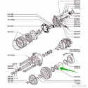 Rulment, compresor Chrysler 40 x 62 x 22
